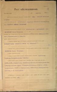 Акт обследования архива Абинского райисполкома от 14 августа 1927 года. ГАКК. Ф. Р-1700. Оп. 1. Д. 163. Л. 23.