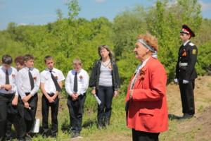 Открытие памятника летчику Алексею Белостоцкому 26 апреля 2016 года